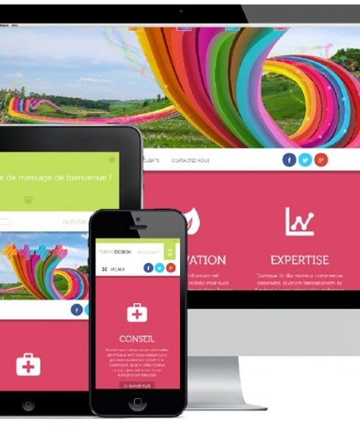 Site internet et application web